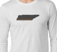 Tennessee - State of the South (Orange) Long Sleeve T-Shirt