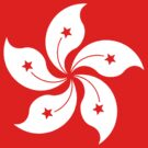 Living Hong Kong Flag by cadellin