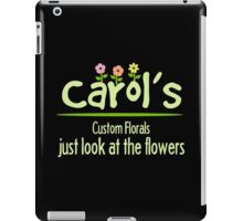 Look at the Flowers iPad Case/Skin