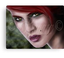 Eyes of hunger [witchcraft] Canvas Print
