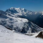 Chamonix Valley Panorama by John Gaffen