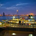 All Aboard The Mersey Ferry by ajwimages