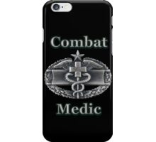 Army Combat Medic Badge (t-shirt) iPhone Case/Skin
