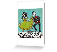 The Mexican Hat Dance Greeting Card