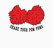 Cheer Shake Your Pom Poms Womens Fitted T-Shirt