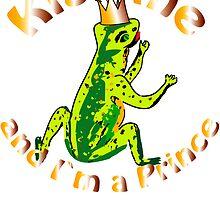 frog King, Froschkönig by Birgits