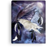 Dream Catcher - Legend Of The White Raven Metal Print