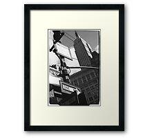 Empire State Building, 34th Street, New York Framed Print