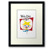 Winky Dink and You! Framed Print