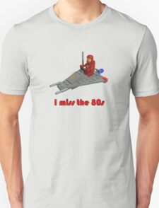 I miss the 80s (especially my Lego) Unisex T-Shirt