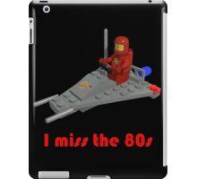 I miss the 80s (especially my Lego) iPad Case/Skin