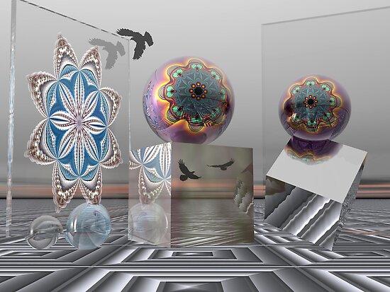 Wonder World, 3-d Surrealistic work by walstraasart