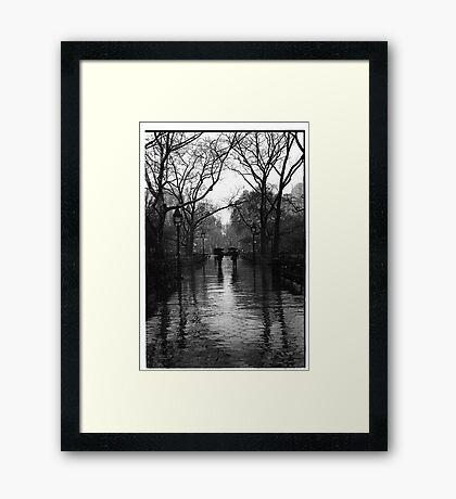 Washington Square Park, Greenwich Village, New York Framed Print