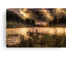 Loch Ard sunset Canvas Print