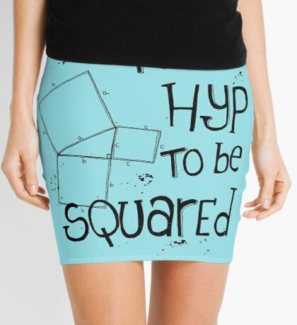It's Hyp to be Squared (black) Mini Skirt