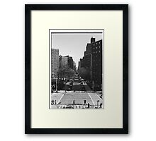 10th Avenue from the High Line, New York Framed Print