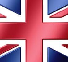 British Flag - UK - Metallic Sticker