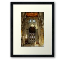Peterborough Cathedral 2 Framed Print