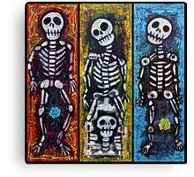 Los Compadres Muertos Canvas Print