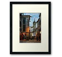 A Rúa Nova Framed Print