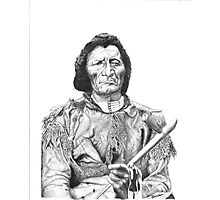 Dull Knife (Pen And Ink) Photographic Print
