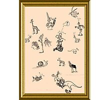 Silly Drawings by a Fool Photographic Print