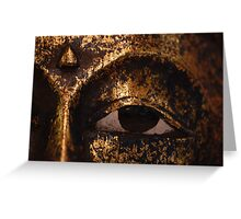 Buddha mask Greeting Card