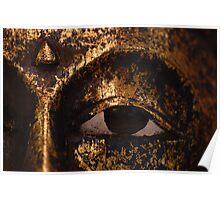 Buddha mask Poster