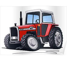 Massey Ferguson 590 Tractor Poster