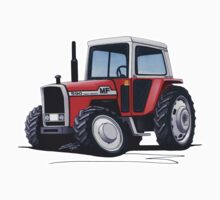Massey Ferguson 590 Tractor by Richard Yeomans