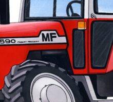 Massey Ferguson 590 Tractor Sticker