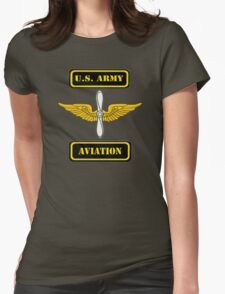 Army Aviation Branch ( t-shirt ) Womens Fitted T-Shirt