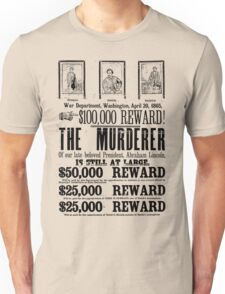 Murderer At Large Unisex T-Shirt