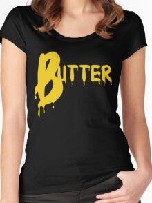 BUTTER Women's Fitted Scoop T-Shirt