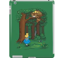 My Neighbor in Wonderland (Kelly Green) iPad Case/Skin