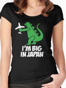 I'm big in Japan - Godzilla Women's Fitted Scoop T-Shirt