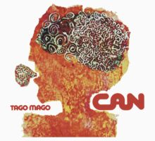 Can Tago Mago T-Shirt by retrorebirth