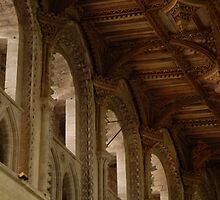 St. Davids cathedral roof by Crimmy