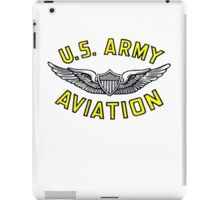 Army Aviation (t-shirt) iPad Case/Skin