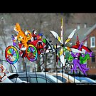 Lainie's Way Pinwheel Toys Collection - Port Jefferson, New York  by © Sophie W. Smith