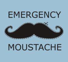 Emergency Moustache Kids Clothes