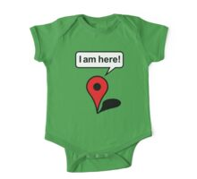 I am here! Google Maps One Piece - Short Sleeve