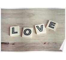 letter love Poster
