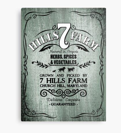 7 HILLS FARM Metal Print