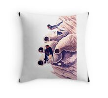 Republican or Cliff Swallow Throw Pillow