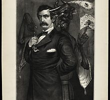 Satan tempting Booth to the murder of the President, [Magee Portrait of Booth]. by Adam Asar