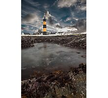 St Johns Light House Photographic Print