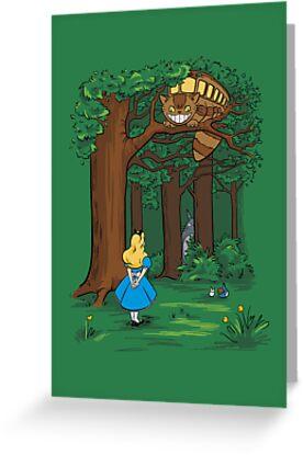 My Neighbor in Wonderland (Kelly Green) by Mandrie