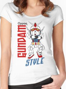 Oppan Gundam Style Women's Fitted Scoop T-Shirt