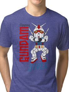 Oppan Gundam Style Tri-blend T-Shirt